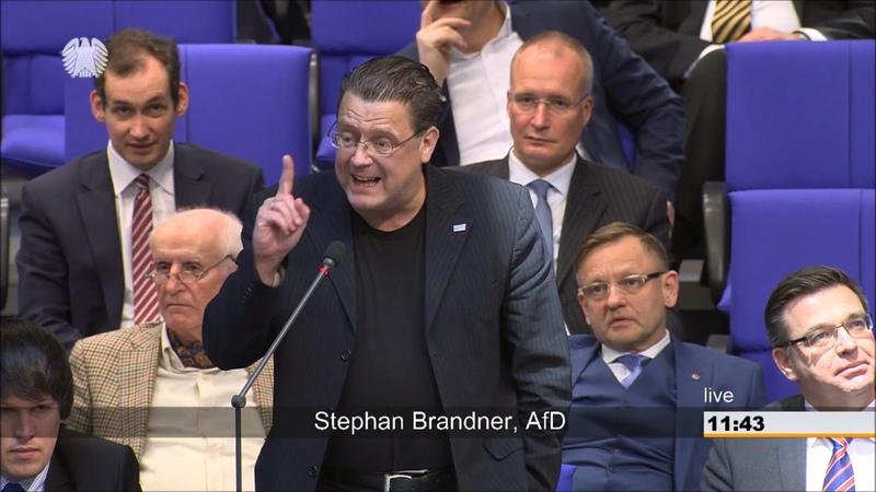 Brandner: Sie kennen nicht mal die Grundsätze des deutschen Rechts! - AfD-Fraktion im Bundestag