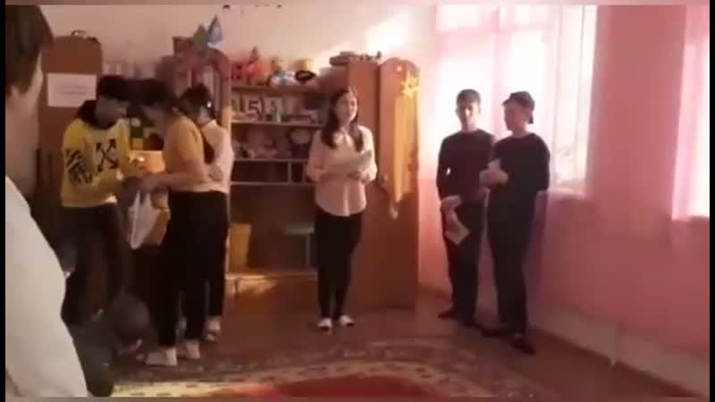 Шапағат мүгедек балаларды сауықтандыру орталығы Еріктілер жылына орай оқушыларым жасаған видео 🙏🙏