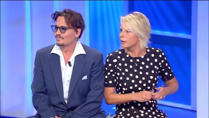 C'è posta per te 2020 ospite Johnny Depp prima puntata