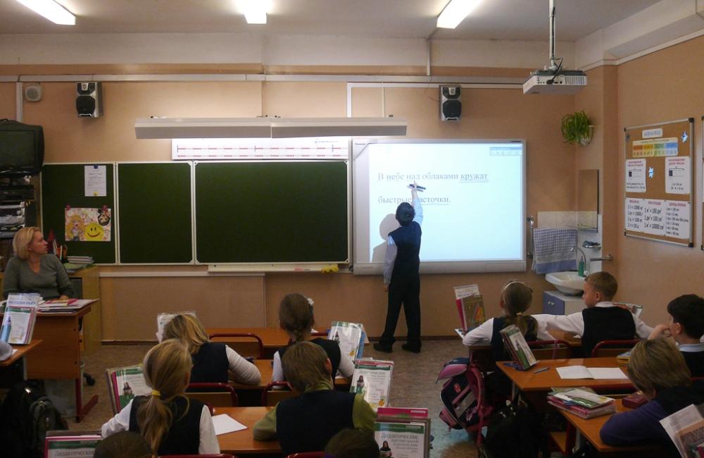 Интерактивные доски с проектором для школы
