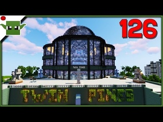 🔴Minecraft City Building - E126 - Shopping Mall with Patrons + Channel Members - follow me on Insta