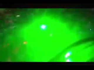 Chilean protesters try to blind a police helicopter with lasers 2019