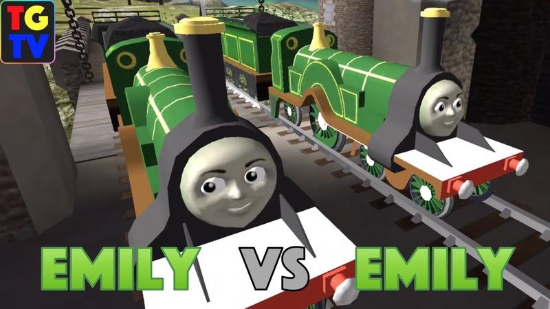 Thomas Friends: Go Go Thomas! - Emily VS Emily