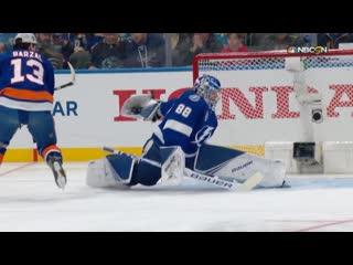 Vasilevskiy's save streak effort jan 24, 2020
