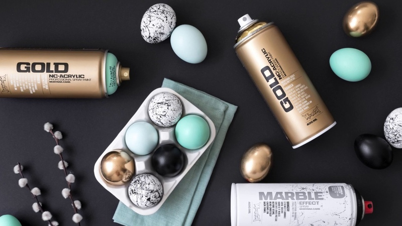 How to use Montana Cans GOLD line Spraypaint