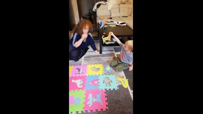 День рождение с бабусей Наташей 4 года