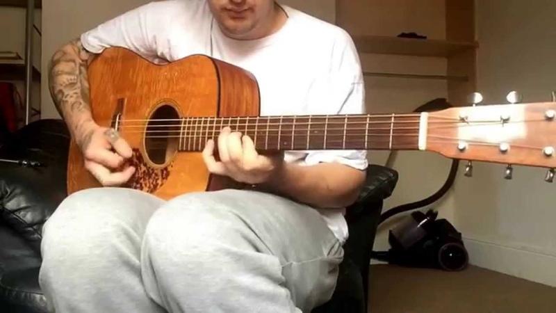 Tennessee waltz. Bluegrass guitar.