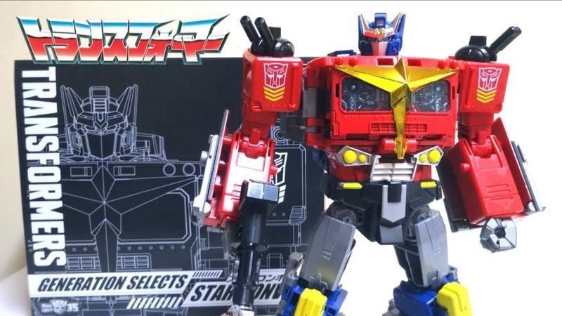 トランスフォーマー ジェネレーションセレクト かっこよすぎ笑!スターコンボイ ヲタファのじっくり変形レビュー Transformers Star Convoy