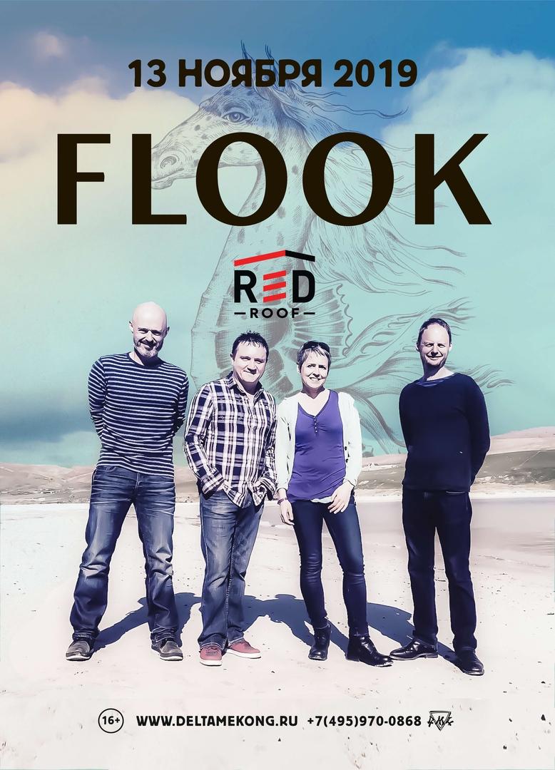 Афиша Москва FLOOK (EN/IE) 13/11/2019 Москва Red Roof