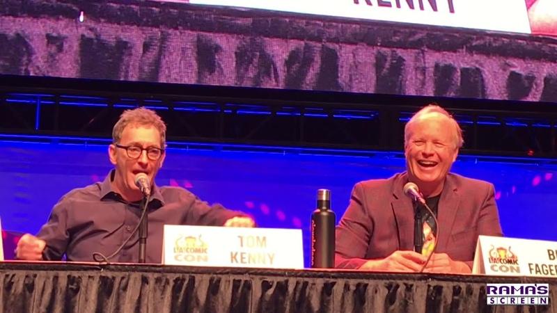 SPONGEBOB SQUAREPANTS Panel with Tom Kenny and Bill Fagerbakke