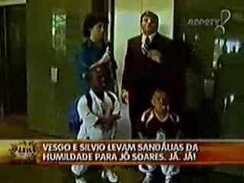 1de2 Pânico na TV Merchan Neves Casão Seleção Brasileira