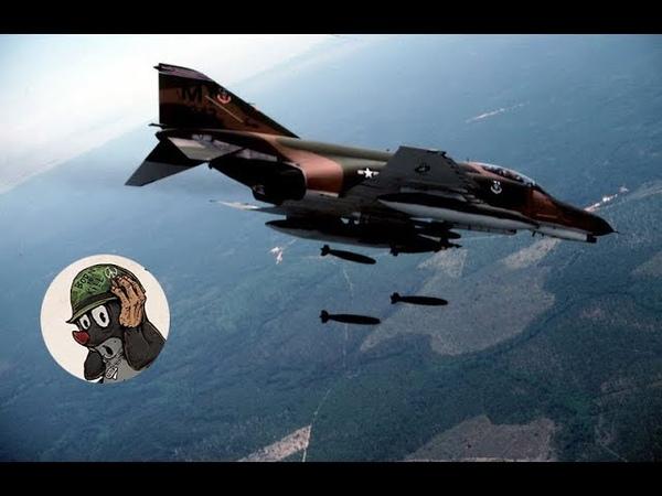 F-4 Phantom II Главный поставщик запчастей МИГов | Война во Вьетнаме