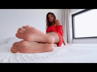 Melena Maria Rya - Foot And Pantyhose Fetish [Solo]