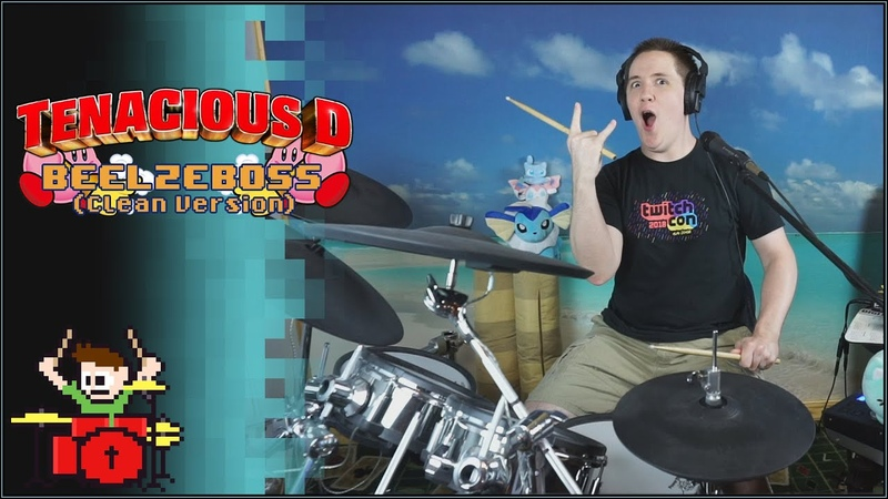 Tenacious D Beelzeboss Clean Version On Drums