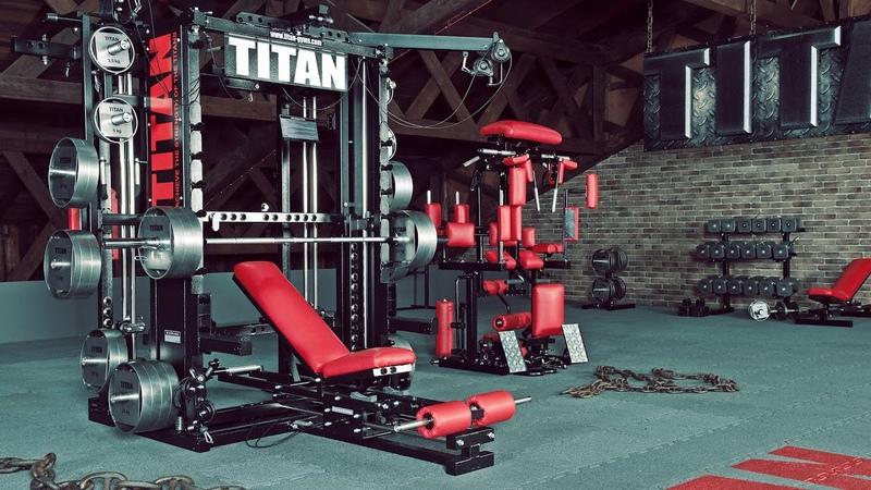 TITAN T1-X (Currently TYTAX® T1-X) - ULTIMATE Gym Machine UNLIMITED Workout Possibilities