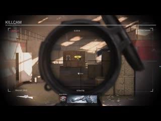 Scope Glint can be seen through walls? Bug? Modern Warfare