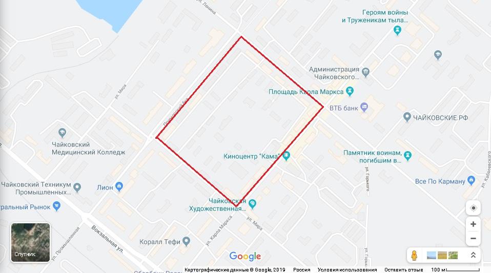 комплексная застройка, чайковский район, 2019 год