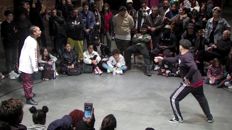 HAPPY BATTLE 4 Demi finale Hip Hop Mel's VS Yanka