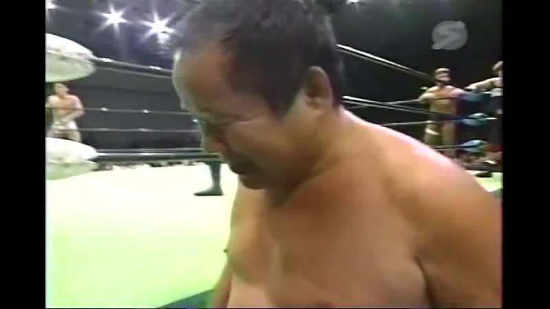 2000.11.16 - Rusher KimuraKentaro ShigaTakeshi Morishima vs. Haruka EigenJun IzumidaYoshinobu Kanemaru [CLIPPED]