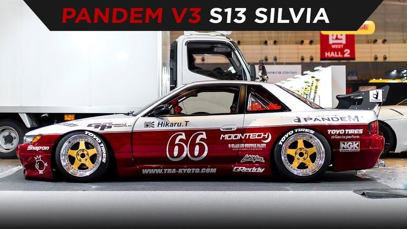 PANDEM S13 SILVIA   TOYO TIRES   [4K60]