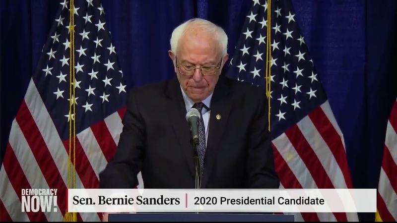 Bernie Sanders promete cuestionar a Biden sobre las políticas progresistas