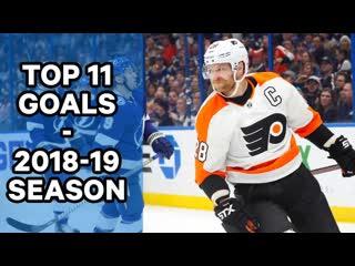 Top 11 Goals 18/19 NHL Season