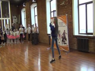 Милена Богачева, ученица Академии Танца и Музыки. Хип хоп хореография. Преподаватель Мария Мохова. Детский концерт