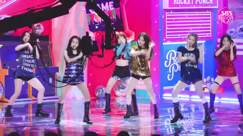 190811 FANCAM Rocket Punch Bim Bam Bum @ Inkigayo