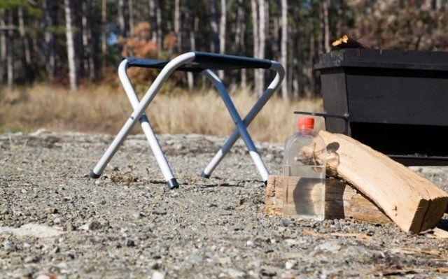 Складная мебель очень удобна во время походов на шашлыки
