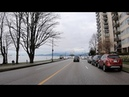 Driving in VANCOUVER Canada Downtown Stanley Park Tour
