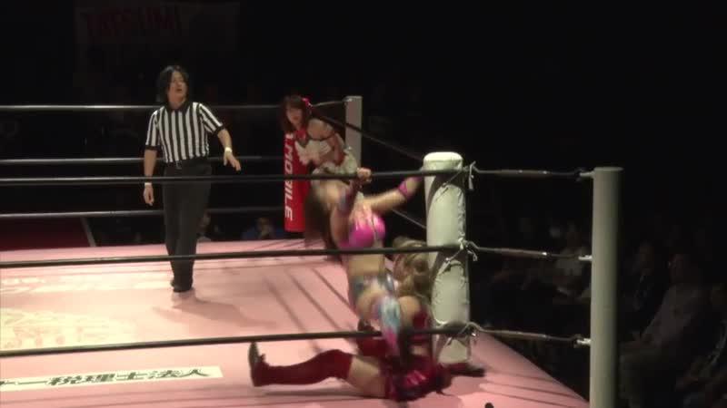 Hikari Noa Mina Shirakawa vs Shoko Nakajima Yuki Aino