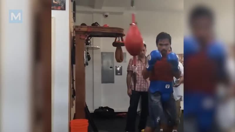 Manny Pacquiao Boxing Training _ Muscle Madness