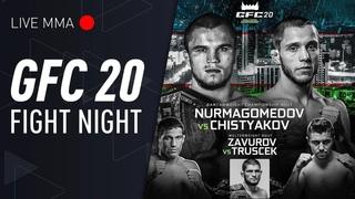 [LIVE MMA] GFC 20 Uzbekistan - featuring Umar Nurmagomedov vs Brian Gonzales