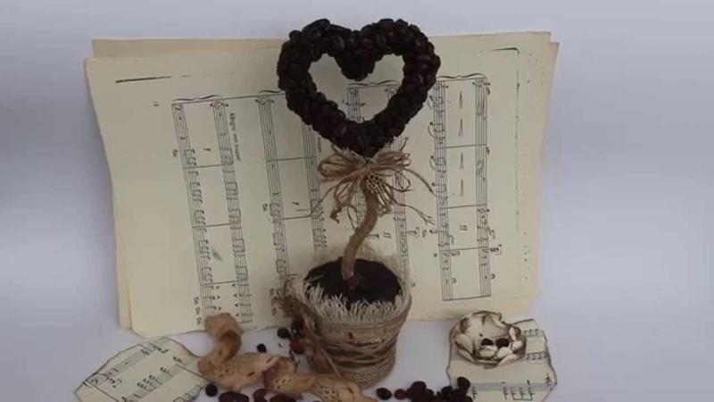 Сoffee topiary. Кофейный топиарий