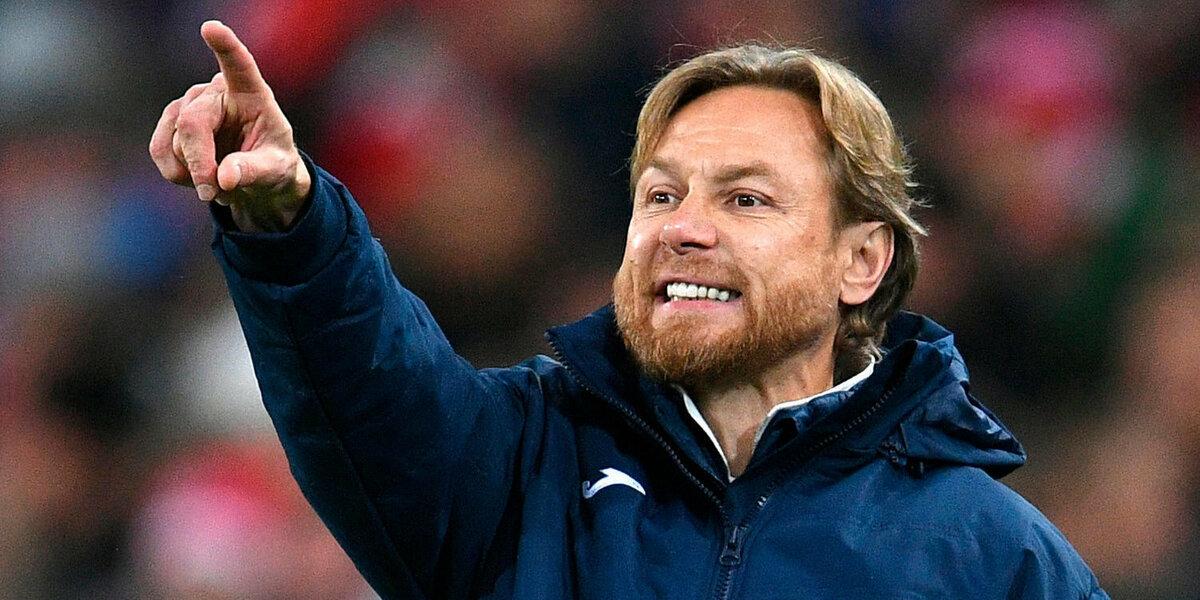 Валерий Карпин, главный тренер ФК Ростов