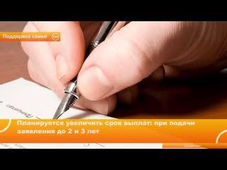 Госдума приняла закон о выплате детских пособий до трех лет