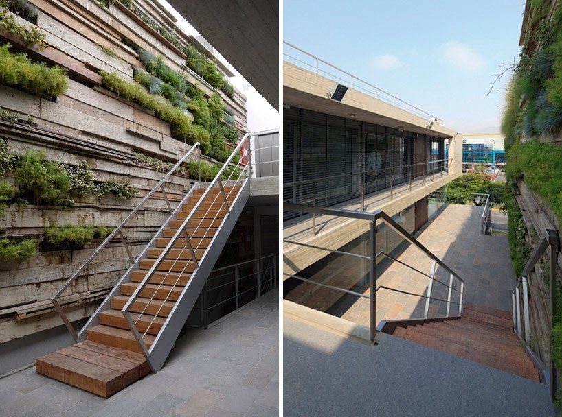 Zentro Office Building and Commercial by Gonzalez Moix Arquitectura