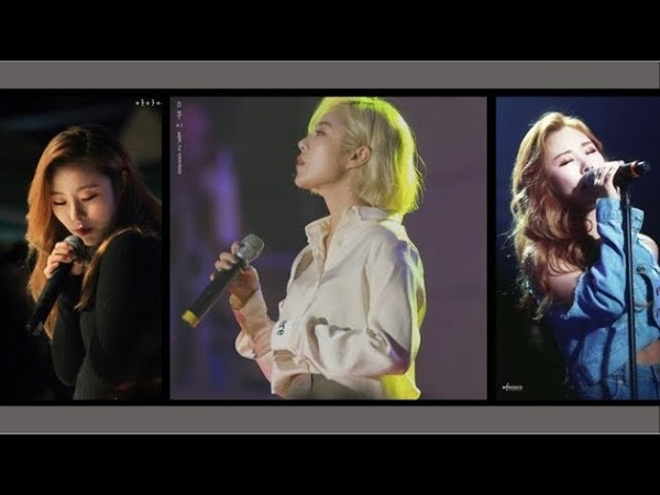 Mamamoo's wheein- best vocal compilation