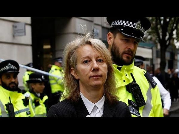 Mitbegründerin der Bewegung Extinction Rebellion in London verhaftet