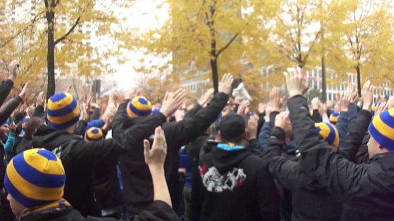 Lok Leipzig vs. RB Leipzig 0:2,Fanmarsch Lok Fans