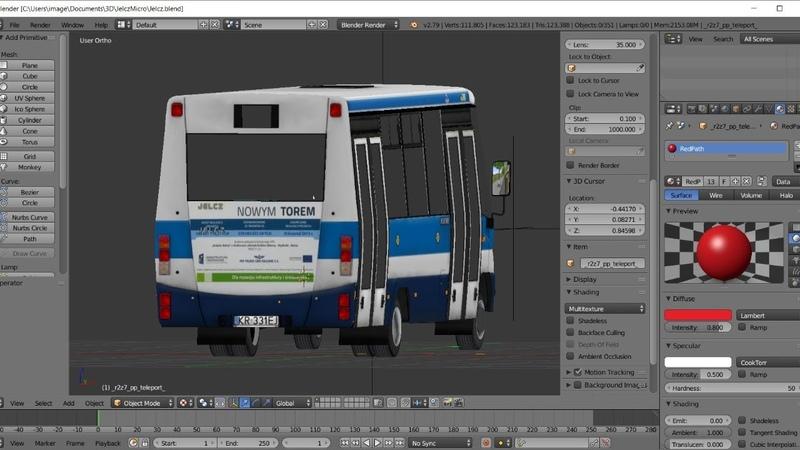 Proton Bus Simulator Jelcz M081MB Conversion Process