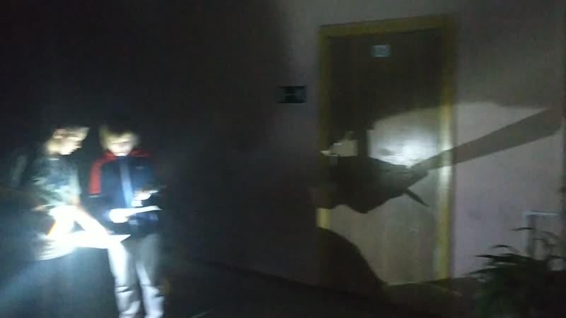 Ночное ориентирование. Школа №9 г. Новотроицк.