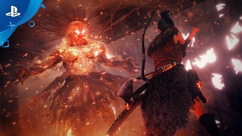 Nioh 2 | Release Date Reveal Trailer | PS4