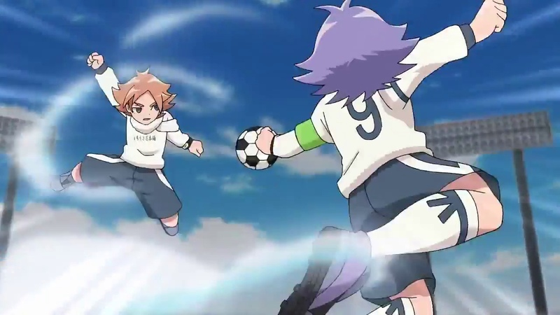 Inazuma Eleven Ares no Tenbin Triple Blizzard RAW SD HD