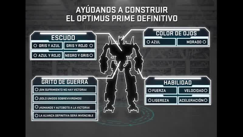 El Optimus Prime Definitivo Interactive