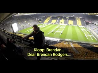A throwback to when this reporter begged jürgen klopp to come to liverpool manager
