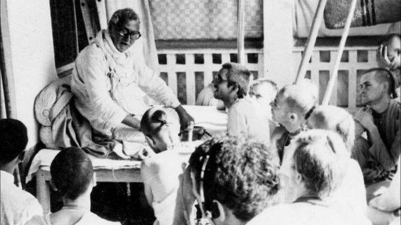 Шрила Бхакти Ракшак Шридхар Госвами Махарадж. День ухода. (Шриман Шукадев дас Адхикари)