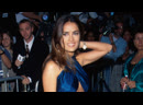 Сальма Хайек на премьере боевика «Бэтмен и Робин» (12/07/1997)