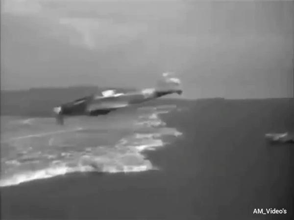 Ил-2 ведут огонь по противнику(Крым 1944)-Жатва Черной смерти/IL-2 attack aircraft fire on the enemy(Crimea 1944)-Harvest of Black Death.