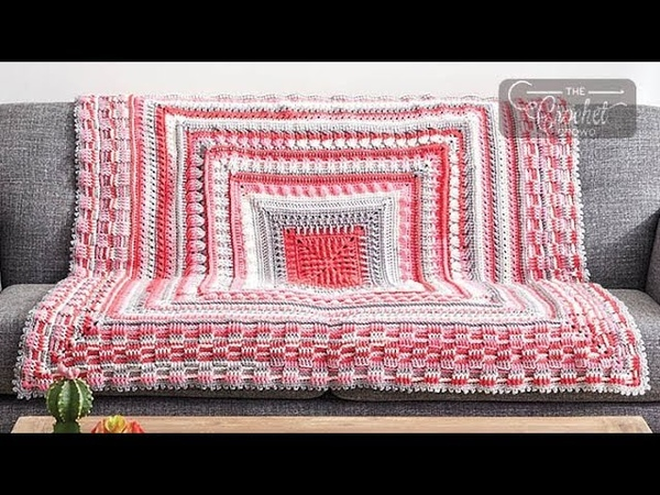 Stitch Along: Crochet Study of Texture Blanket